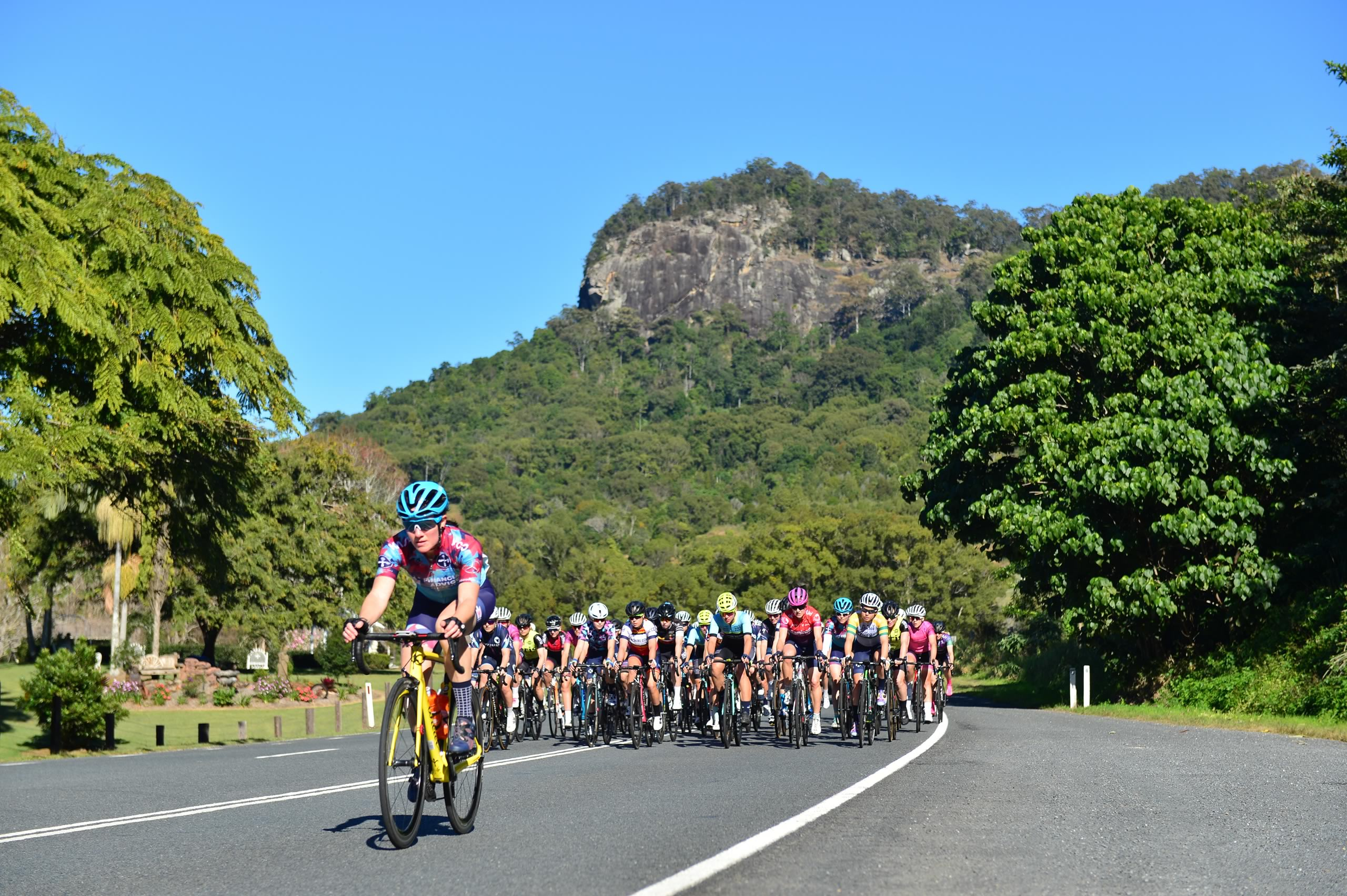 Tour de Tweed volcano climb